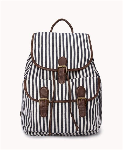 Striped Backpack railroad striped backpack from forever 21 backpack your