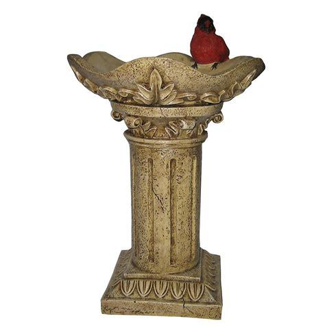 Pedestal Bird Feeders bird on pedestal bird feeder outdoor living outdoor decor misc outdoor decor