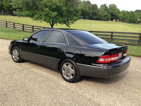 Sell Used 2001 Lexus Es300 Coach Edition Black On Black In