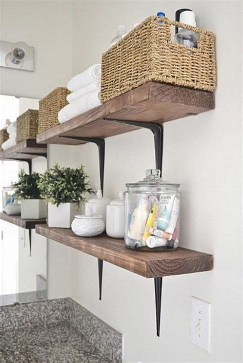 diy bathroom organiser space saving diy bathroom storage items comfydwelling com