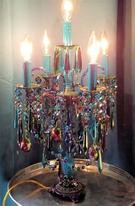 candelabra lighting and home decor the 25 best chandelier table l ideas on pinterest