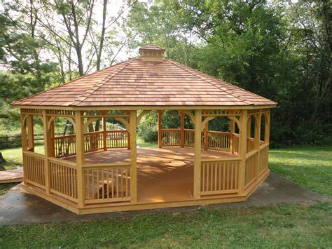 wood gazebo add to your yard by choosing a wooden gazebo