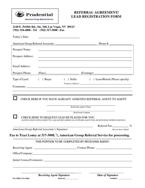 real estate agent referral form awesome real estate reference letter