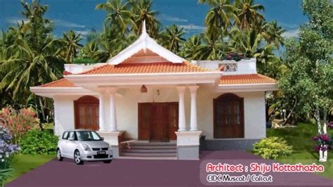 kerala style home design and plan house plans kerala style 1000 square feet youtube