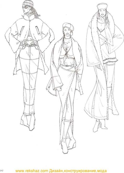 Fashion Figure Drawing Dyahtri N W Astuti the gallery for gt high fashion croquis templates