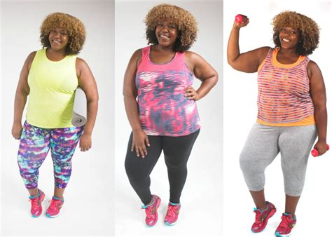 best workout clothes for plus size hellobeautiful