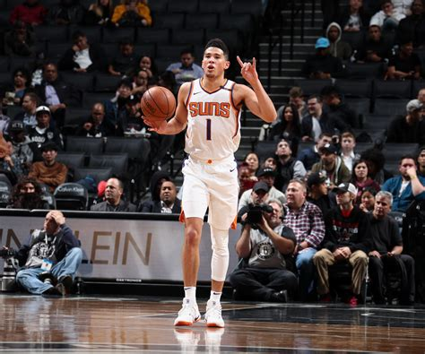 Okc Thunder Bench Devin Booker 5 Early Signs He S Making The Leap For The