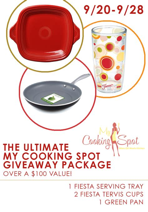 The Ultimate Entertaining Giveaway by Ultimate Kitchenware Package Giveaway