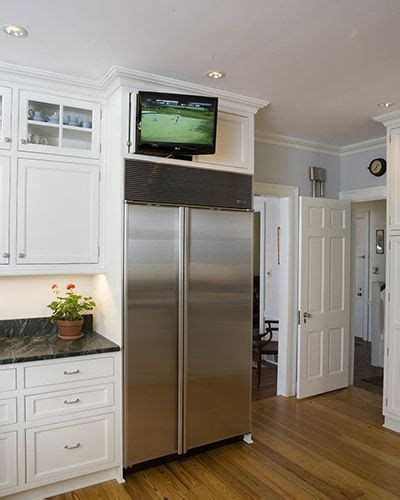 tv in kitchen cabinet pinterest the world s catalog of ideas