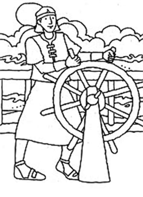 lds coloring pages nephi builds a ship keeping promises liahona