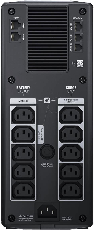Power Savinq Back Ups Rs 1200 230v Br1200gi apc bkrs1200 lcd power saving back ups pro 1200va lcd
