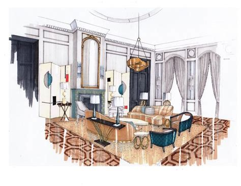 interior design drawing room  abbie de bunsen