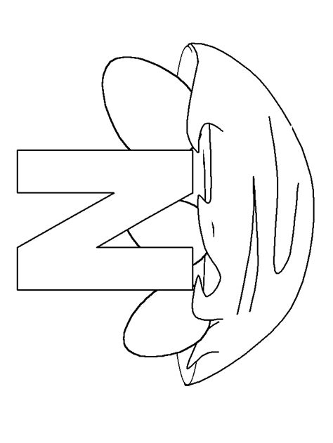 N For Nest Coloring Page by N Nest Alphabet Coloring Pages Coloring Book