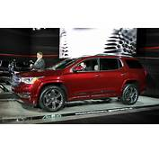 2017 GMC Acadia Uses Detroit For Downsizing Denali And