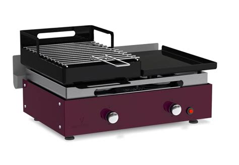 Barbecue Grill Plancha by Verysmart Plancha Gasgrill Und Holzkohlegrill Verycook