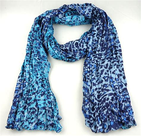 philippines fold leopard silk scarf china scarf