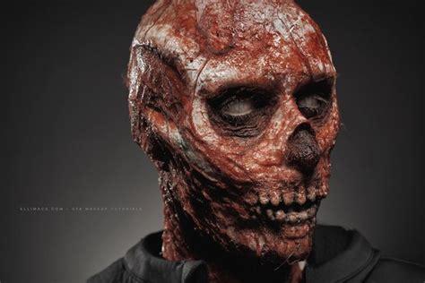 zombie sfx tutorial skeleton zombie sfx makeup tutorial all