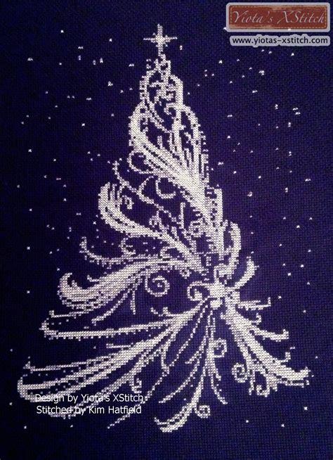 tree cross stitch pattern white tree cross stitch kit pattern yiotas