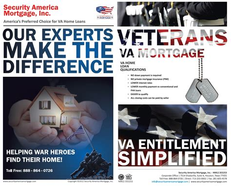 security america mortgage inc set the va mortgage