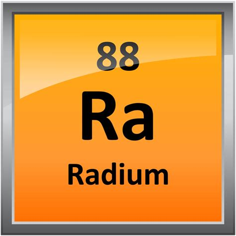 Ra Periodic Table by 088 Radium Science Notes And Projects