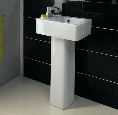 pedestal sinks for small bathrooms gracious 439261 wall mount semi pedestal to indoor