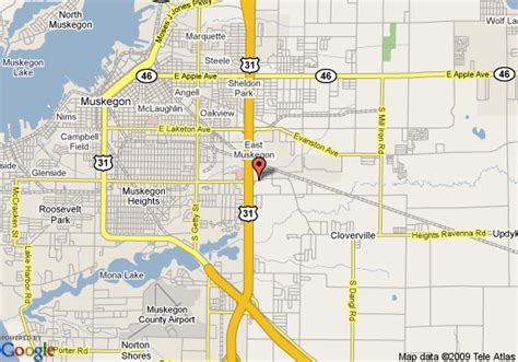 Comfort Inn In Muskegon Mi by Map Of Comfort Inn Muskegon Muskegon