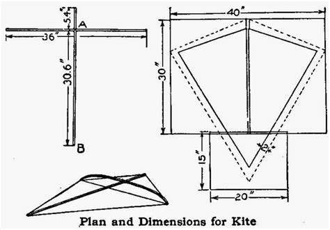 How To Make A Kite Out Of A Paper Bag - how to make a crossbow out of wood diy projects