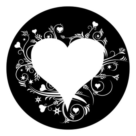 decorative hearts for the home decorative heart silhouette projected image
