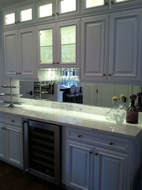 kitchen mirror backsplash mirrored backsplash decor ideas pinterest