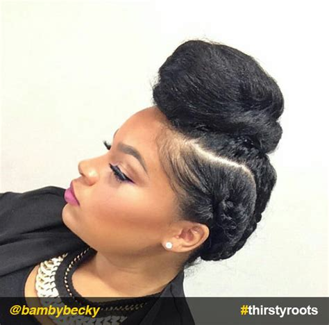 How To Make A Bun Hairstyle For Black Hair by Bun Hairstyles For Black Hair Hair