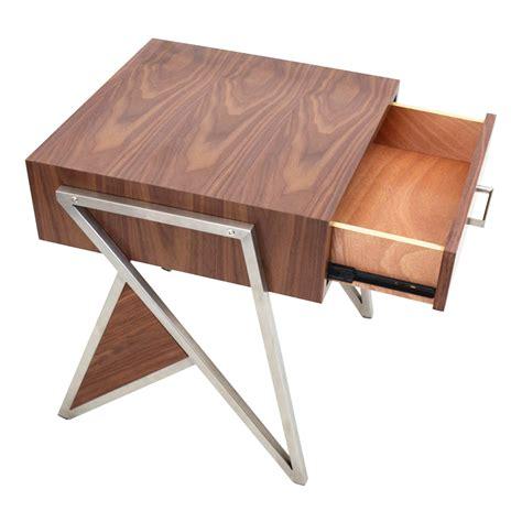 Trudi Wood trudy modern end table nightstand eurway furniture