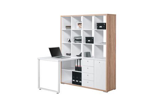 bureau d 騁ude grenoble bureau contemporain avec rangement ch 234 ne sonoma blanc