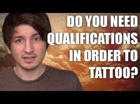 tattoo removal qualification what qualifications do you need to become a artist