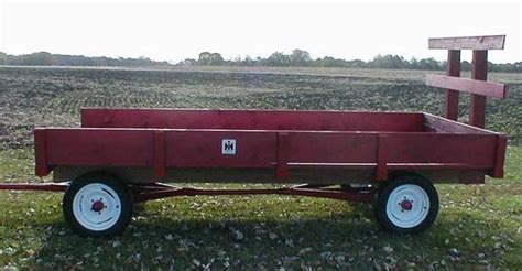 Hay Racks For Sale by Farmall Painted Hay Rack Wagon For Sale