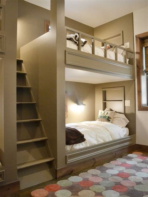 Built In Bunk Beds Ideas Built In Bunk Beds Home Design Ideas Pictures Remodel And Decor