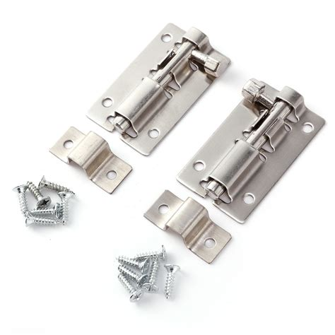 bathroom door bolt lock 2x stainless steel slide bolt door lock latch for home