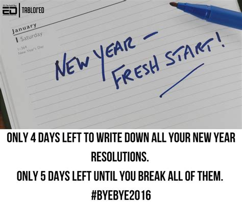 new year poster fail new year resolutions that make and fail miserably