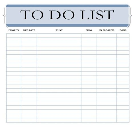 Editable To Do List Template The Best To Do List App With A To Do List Template To Do List Template