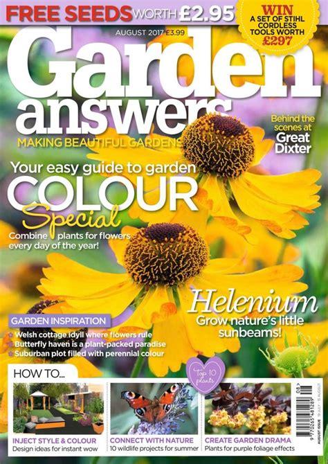 best gardening magazines the 10 best gardening magazines magazine co uk
