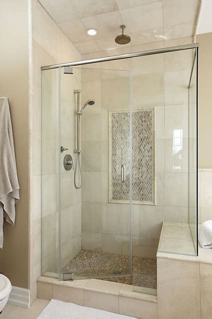bathroom tile ideas houzz houzz travertine 2013 showers studio design gallery