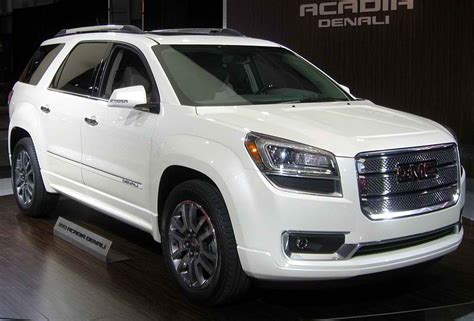 gmc acadia denali lease offers 2012 april