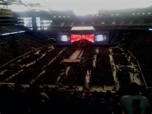 ford field section 319 row 16 seat 12 one direction vs