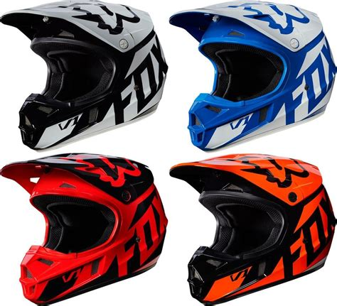 fox v1 motocross 119 95 fox racing youth v1 race mx motocross helmet 995527