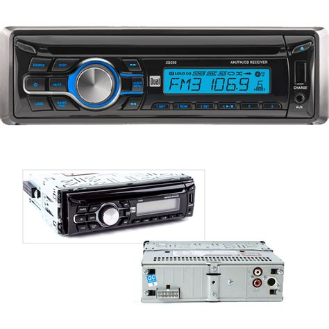 Car Cd Player With Usb Port by New Dual In Dash Cd Player Am Fm Radio Car Stereo Receiver
