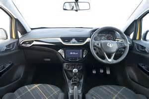 Vauxhall Corsa Dashboard 2015 Vauxhall Corsa Review Superficial Changes Carwitter