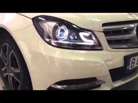 lights mercedes c class w204 facelift by kitt