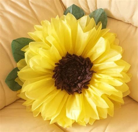 How To Make Sunflowers Out Of Tissue Paper - pomp 243 n fiebre congelados girasol cumplea 241 os boda lugar