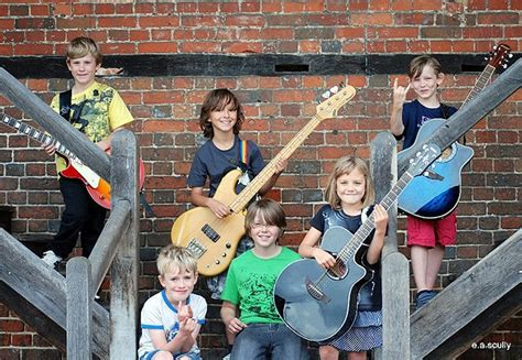 10 Children That Rock by The Mini Band A Talented Rock Made Up Of Children