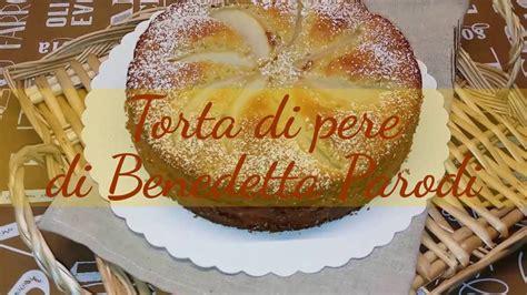 cucina con benedetta parodi ricetta torta con amaretti di benedetta parodi ricette