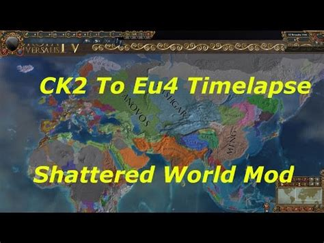 lets observe ck2 shattered world eu4 better than napoleon 10 let s play europa